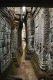 angkor Καμπότζη khan ναός preah Στοκ Εικόνα