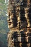 angkor Καμπότζη Khmer ναός Bayon Στοκ Φωτογραφία