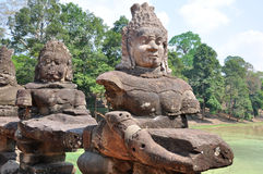 angkor Καμπότζη thom Στοκ Εικόνες