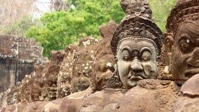 angkor Καμπότζη thom Στοκ Φωτογραφίες