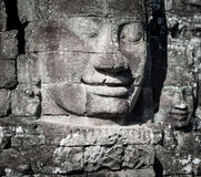 angkor Καμπότζη wat Ναός Bayon σε Angkor Thom Στοκ Φωτογραφία
