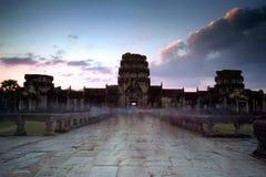 angkor Καμπότζη wat Khmer ναός Thom Angkor Στοκ Φωτογραφία