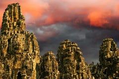 angkor πέρα από την ανατολή wat Στοκ Φωτογραφίες