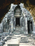 Angkor. The ancient city of Angkor, lost in the jungles of Cambodia Royalty Free Stock Images