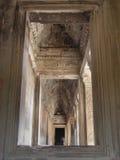 Angkor - Angkor Wat Tempel stockfoto
