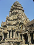 Angkor - Angkor Wat Tempel lizenzfreie stockfotografie