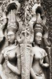 angkor apsara寺庙 免版税库存照片