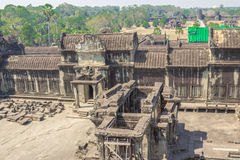 Angkor Archaeological Park Royalty Free Stock Images