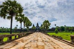 angkor Asia wśrodku wat Cambodia Zdjęcia Stock