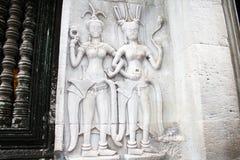 Angkor Aspara Στοκ εικόνες με δικαίωμα ελεύθερης χρήσης