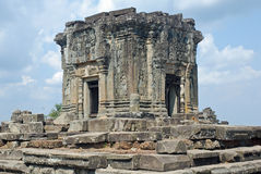 angkor bakheng柬埔寨印度phnom寺庙 图库摄影