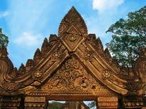 angkor banteay Καμπότζη κοντά στο ναό srei wat Στοκ Εικόνα
