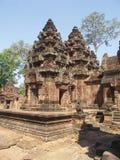 angkor banteay srei寺庙 免版税图库摄影