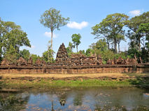 Angkor, Banteay Srei Royalty Free Stock Photography