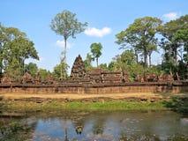 Angkor, Banteay Srei Στοκ φωτογραφία με δικαίωμα ελεύθερης χρήσης