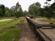 angkor baphuon zbiorów przyniesie siem thom fotografia stock
