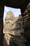 angkor bayon寺庙塔 库存图片