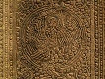 angkor bayon寺庙 库存图片