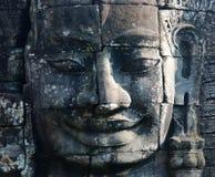 angkor bayon寺庙wat 免版税库存图片