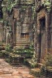 angkor bayon寺庙wat 免版税库存照片