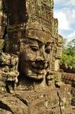 angkor bayon收割siem寺庙 免版税库存图片