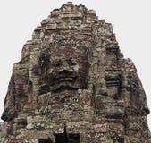 angkor bayon收割siem thom 图库摄影