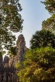 angkor bayon柬埔寨寺庙 库存图片