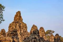 angkor bayon柬埔寨寺庙 库存照片