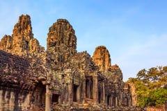 angkor bayon柬埔寨寺庙 图库摄影