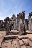 angkor bayon柬埔寨寺庙wat 图库摄影