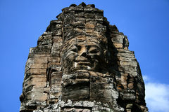 angkor bayon Καμπότζη Στοκ Εικόνες