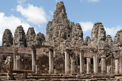 Angkor the Bayon Royalty Free Stock Image