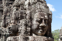 Angkor the Bayon Stock Images