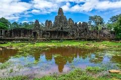 angkor bayon Cambodia świątyni wat Fotografia Royalty Free