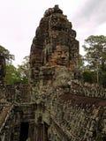 Angkor - Bayon Tempel lizenzfreie stockfotos