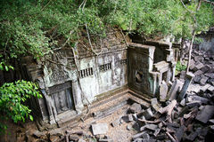 The angkor building Stock Image