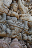 angkor Cambodia banteay srei Obraz Stock