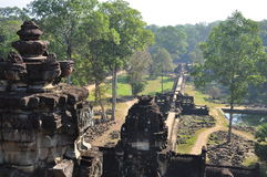 Angkor, Cambodia. Baphuon temple ruins Stock Photo