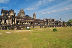Angkor, Cambodia. Khmer Angkor Wat temple Stock Photos