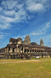 Angkor, Cambodia. Khmer Angkor Wat temple Royalty Free Stock Photography