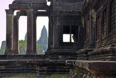Angkor, Cambodia. Khmer Angkor Wat temple Royalty Free Stock Photography