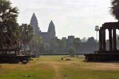 Angkor, Cambodia. Khmer Angkor Wat temple Stock Photography