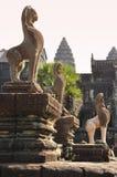 Angkor, Cambodia. Khmer Angkor Wat temple Stock Image