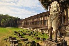Angkor, Cambodia. Khmer Angkor Wat temple Royalty Free Stock Images