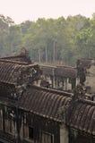 Angkor, Cambodia. Khmer Angkor Wat temple Royalty Free Stock Photos