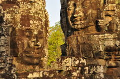 Angkor, Cambodia. Khmer Bayon temple Royalty Free Stock Photos
