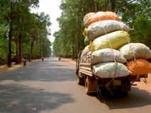angkor Cambodia wejściowy drogowy wat Obraz Stock