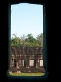 angkor Cambodia widok wat okno Zdjęcie Royalty Free