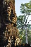 Angkor, Camboya Templo de Bayon del Khmer Imágenes de archivo libres de regalías