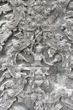 Angkor carved stone Stock Photo
